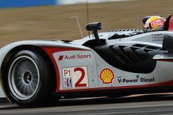 #2 Audi Sport Team Joest Audi R15 TDI: Rinaldo Capello, Tom Kristensen, Allan McNish