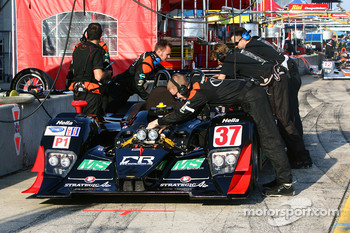 #37 Intersport Racing Lola B06/10 AER: Jon Field, Clint Field, Chapman Ducote