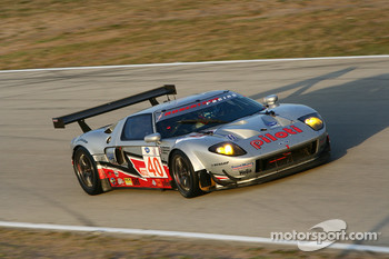#40 Robertson Racing Doran Ford GT MK 7: David Robertson, Andrea Robertson, David Murry