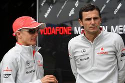 Heikki Kovalainen, McLaren Mercedes, Pedro de la Rosa, Test Driver, McLaren Mercedes
