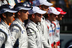 Nico Rosberg, Williams F1 Team at the drivers group picture