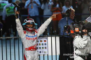 Third place Jarno Trulli, Toyota Racing