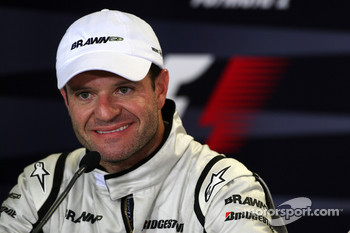 Post-race press conference: second place Rubens Barrichello, Brawn GP