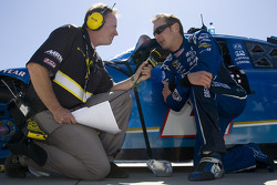 Kurt Busch talks with MRN Radio