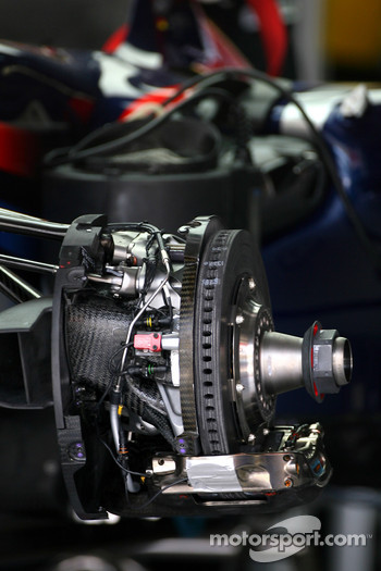 Red Bull Racing brale system detail