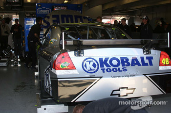 Jimmie Johnson's garage