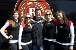 Robby Gordon in charming company