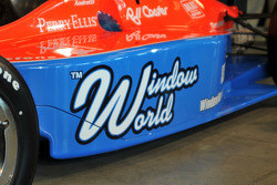 Window World as the primary sponsor of the #43 IndyCar