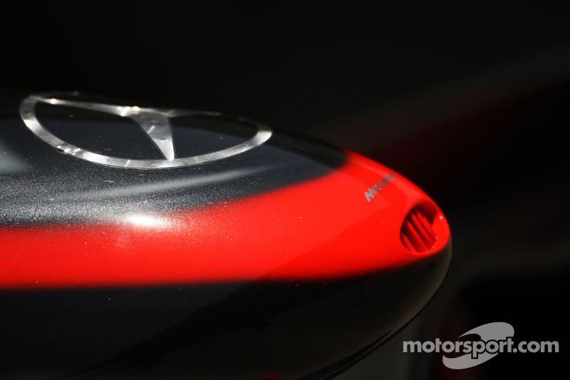 McLaren Mercedes, nose
