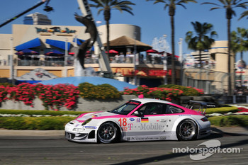 #18 VICI Racing Porsche 911 GT3 RSR: Richard Westbrook, Johannes Stuck