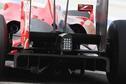 Kimi Raikkonen, Scuderia Ferrari, rear, diffuser, detail