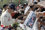 Sbastien Loeb with fans