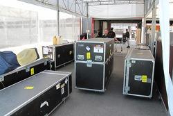 Teams unpack