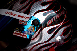 Helmet of Tony Stewart, Stewart-Haas Racing Chevrolet