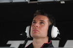Will Power, Penske Racing watches qualifying