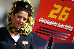 Grid Girl for Christopher Zoechling Continental Circus