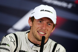 FIA press conference: race winner Jenson Button, Brawn GP