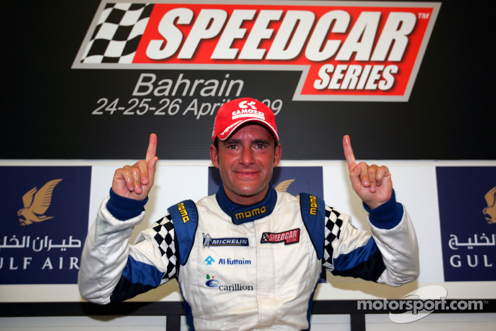Speedcar Series Champion Gianni Morbidelli Palm Beach