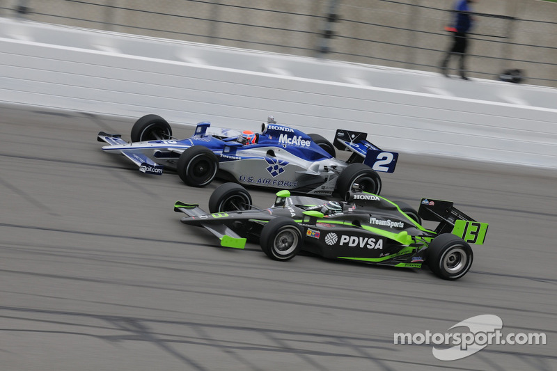 Raphael Matos, Luzco Dragon Racing runs with Ernesto Viso, HVM Racing