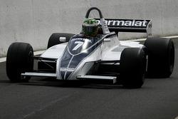 #7 Joaquin Folch (E) Brabham BT49C-10, Kumschick Racing (1982)