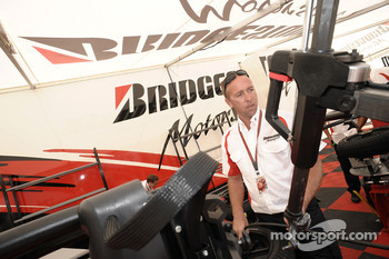Bridgestone team member at work