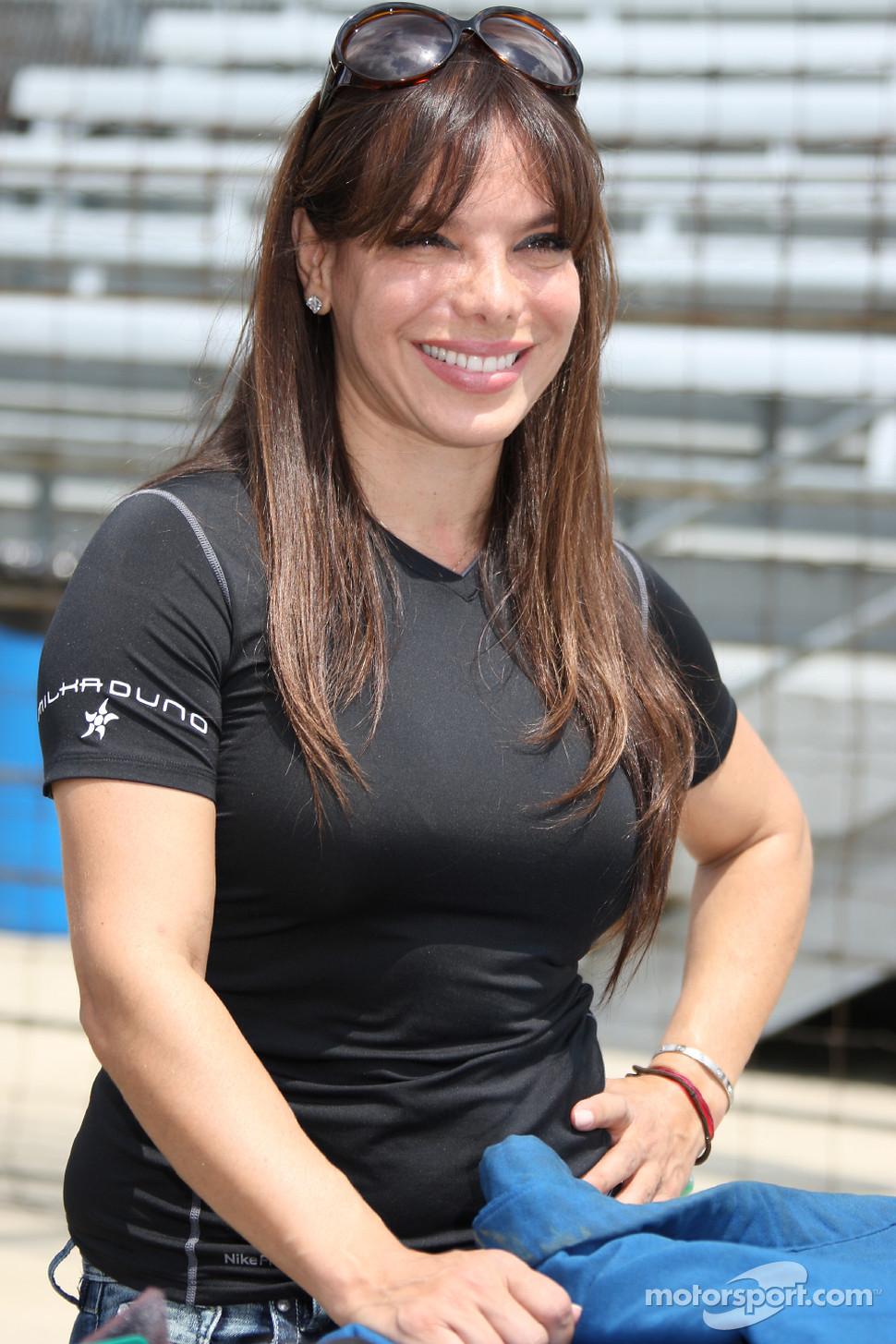Milka Duno, Dreyer & Reinbold Racing | INDYCAR photos ...