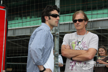 Dario Franchitti, Target Chip Ganassi Racing with Arie Luyendyk
