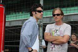 Dario Franchitti, Target Chip Ganassi Racing with Arie Luyendyk