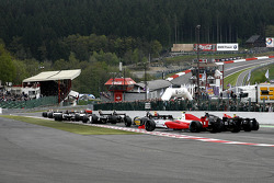 Down towards the Endurance straight, and Eau Rouge