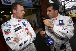 Alexander Wurz and Marc Gene