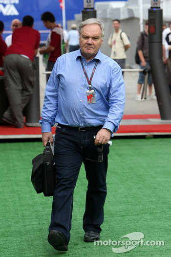 Patrick Head, Williams F1 Team, Director of Engineering