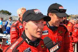 Jon Fogarty and Alex Gurney, DP class winners