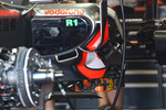 KERS battery system on the McLaren