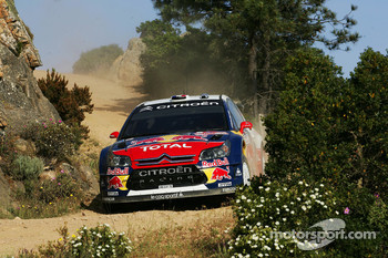 Sbastien Loeb and Daniel Elena, Citroen Total WRT, Citroen C4 WRC