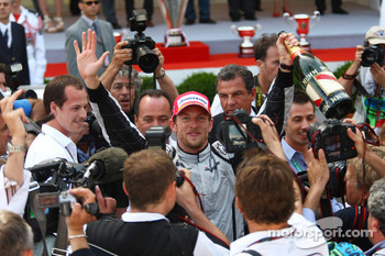 1st place Jenson Button, Brawn GP