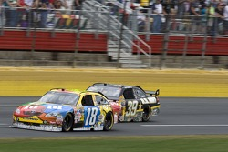 Kyle Busch and Ryan Newman