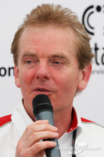 Jonathan Palmer Motorsport Vision Chief Executive