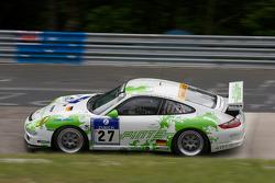 #27 Horn Motorsport Porsche 997 GT3 Cup: David Horn, Michael Illbruck, Hans-Georg Horn, Christian Ried