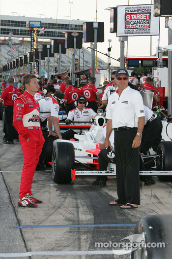 Ryan Briscoe and Rick Mears, Team Penske
