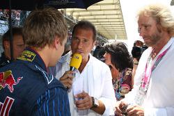 Sebastian Vettel, Red Bull Racing, Kai Ebel and Thomas Gottschalk