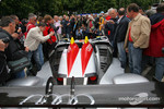 #1 Audi Sport Team Joest Audi R15 TDI arrives at scrutineering