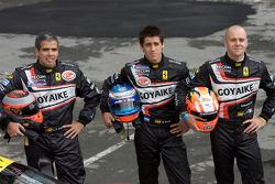 #78 AF Corse Ferrari F430 GT: Gianmaria Bruni, Luis Perez-Companc, Mattias Russo