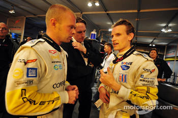 Jan Magnussen and Antonio Garcia