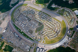 Aerial view of Michigan International Raceway