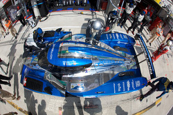 Pit stop for #33 Speedy Racing Team Sebah Lola Judd Coupe: Xavier Pompidou, Benjamin Leuenberger, Jonny Kane