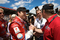Patrick Dempsey and Nigel Mansell