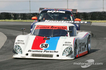 #58 Brumos Racing Porsche Riley: David Donohue, Darren Law