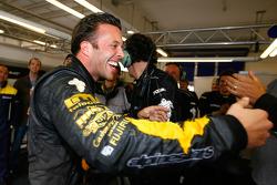 Anthony Kumpen celebrates victory