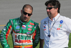 Tony Kanaan, Andretti Green Racing and Michael Andretti