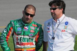 Tony Kanaan, Andretti Green Racing and Michael Andretti